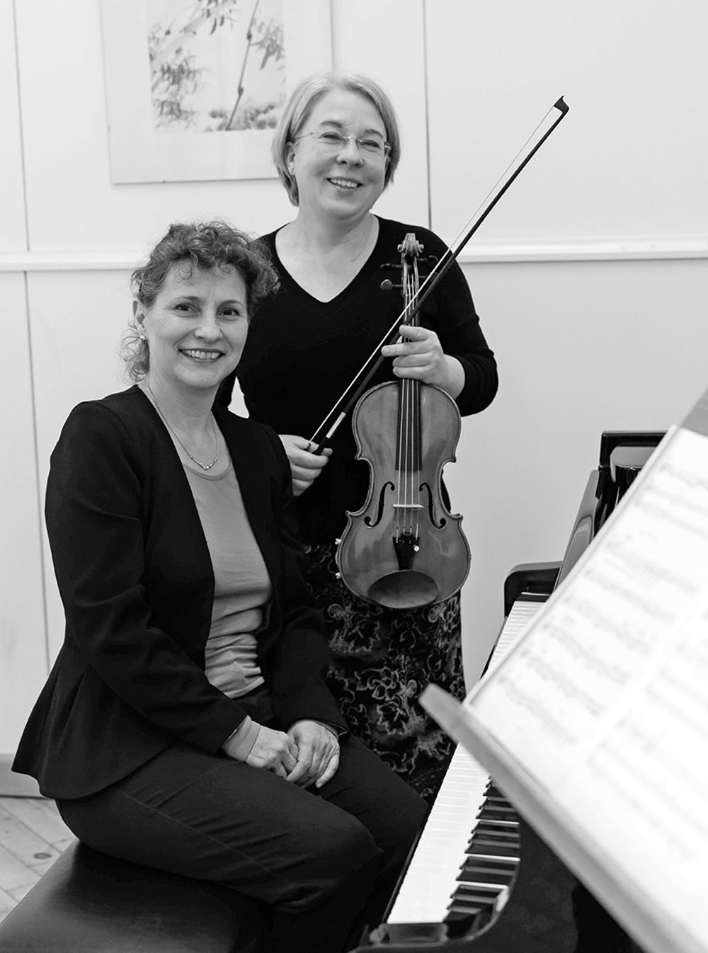 Liana Bertók und Anett Baumann